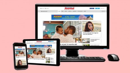 The relaunched Rhyl Journal website
