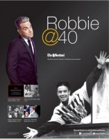 The supplement looks back on Robbie's career and looks ahead to his birthday celebrations