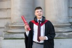 Journalism student graduates from course launched by trainer grandfather