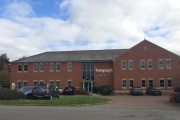 The offices of the Northamptonshire Telegraph,  on Rothwell Road, Kettering