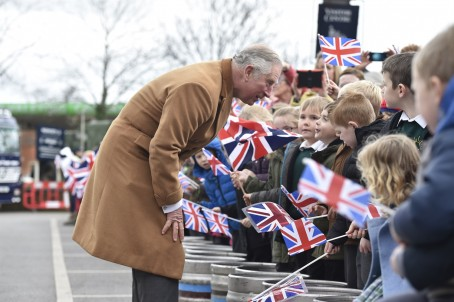 Diane Vose's photo of Prince Charles for the Wiltshire Gazette & Herald