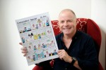 'Gregarious and fun' regional daily cartoonist dies unexpectedly aged 51