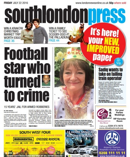 Friday's edition of the relaunched SLP