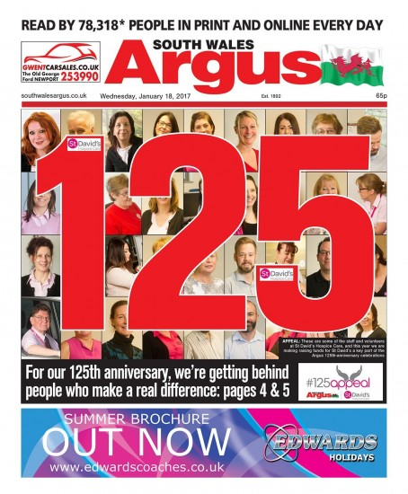 The appeal was launched by the Argus at the start of this year