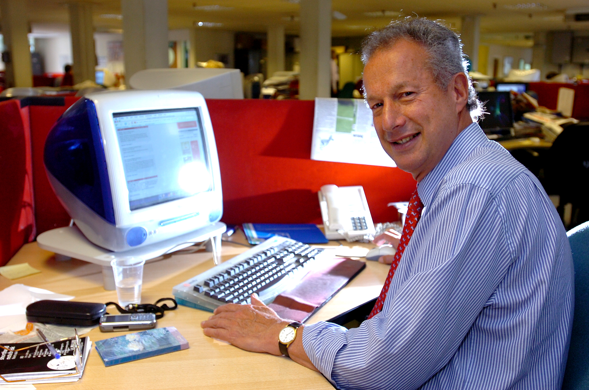 Sports journalist bows out after 46 years on newspaper ...