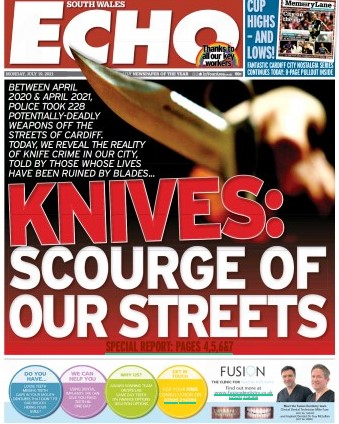 SWE knives