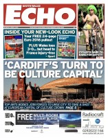 The front cover of today's new look Echo