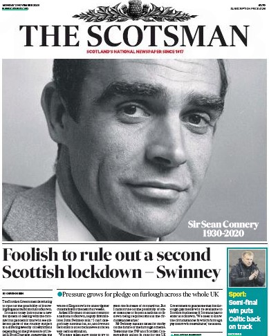 Scotsman Connery