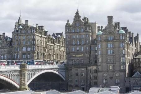 Two found dead in Edinburgh hotel | UK news | The Guardian