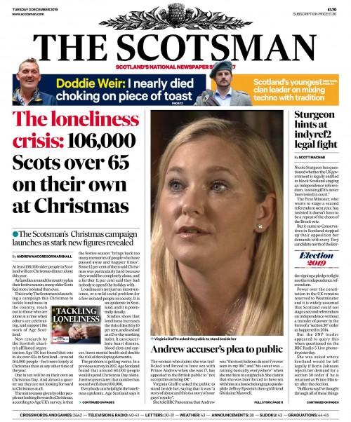 Scotsman loneliness