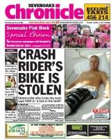 The Sevenoaks Chronicle goes pink