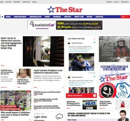 Sheffield new site