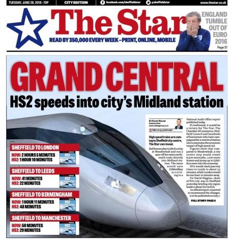 Sheffield rail