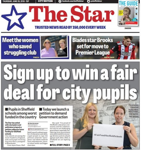 Sheffield schools petition