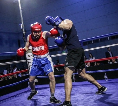 Journalist throws in towel three minutes into boxing career