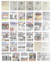 The front page wraparound on yesterday's Gazette