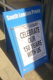 South London Press 150