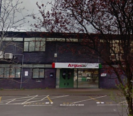South Wales Argus office