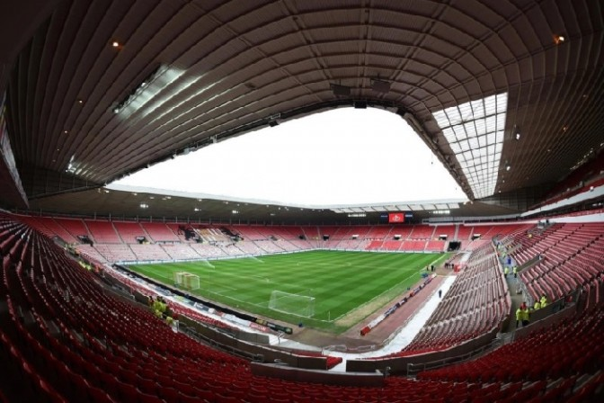 The award will be presented at Sunderland's Stadium of Light