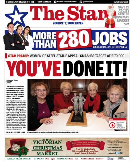 The Star's Women of Steel campaign was successful