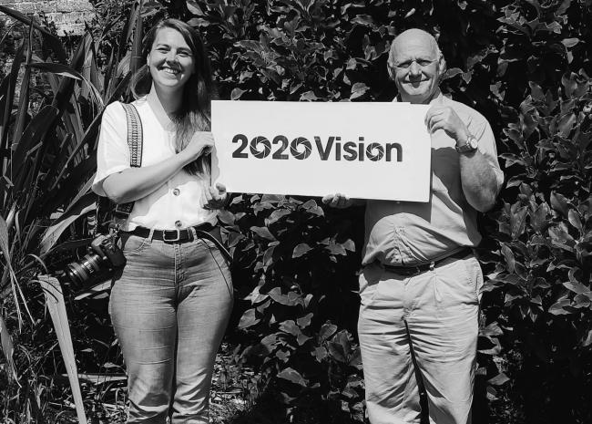 Steve Hoselitz with Amy Hewitt