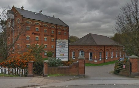 Stoke Mill, home of the Surrey Advertiser