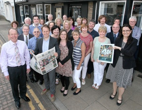 The Herald team which covered the commemorations