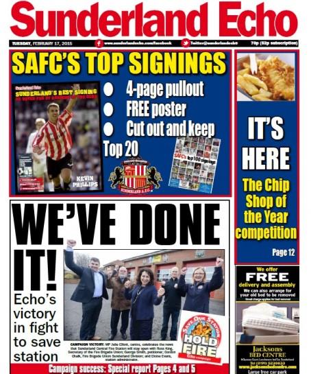 Sunderland echo news today