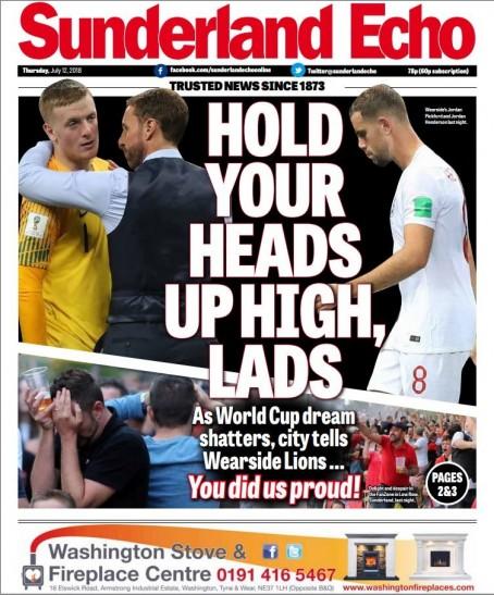 Sunderland out