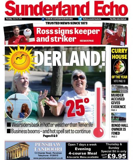 Sunderland sun