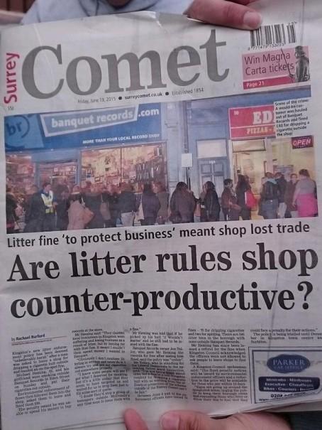 Surrey headline