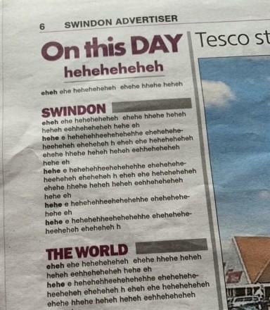 Swindon funny