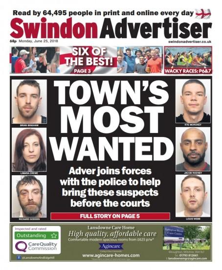Swindon wanted