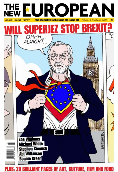 The latest edition of The New European