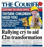 The Courier cover (c) D.C. Thomson & Co. Ltd. 2014