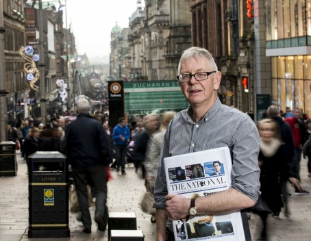 Editor Richard Walker pictured with the new paper