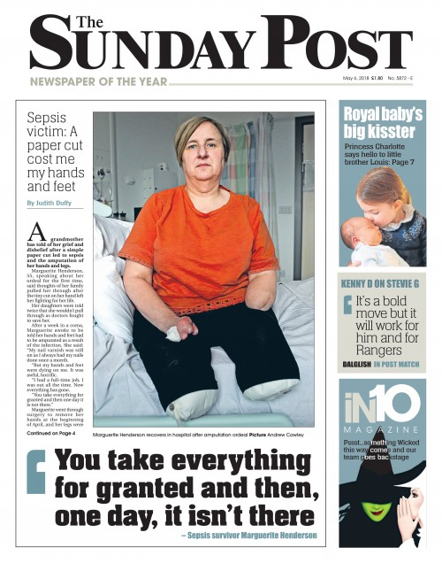 The Sunday Post - Sepsis Victim