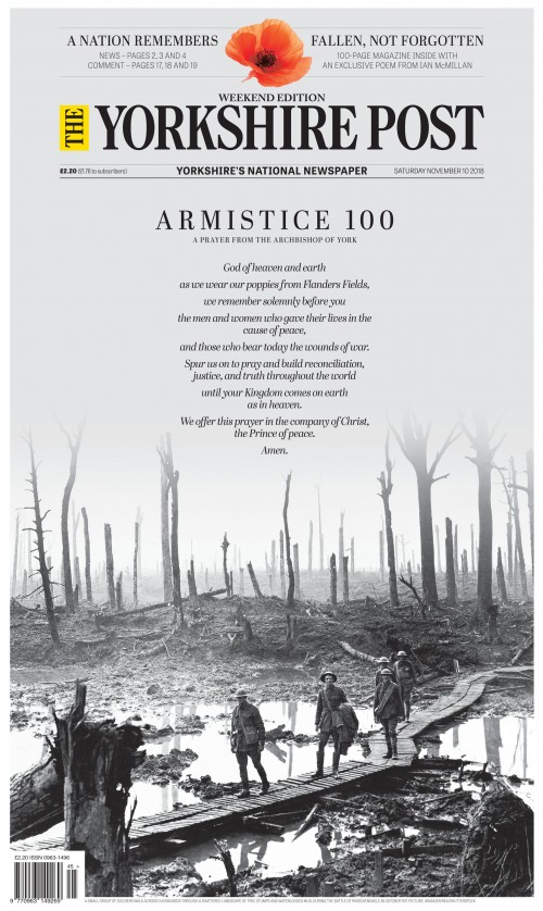 The Yorkshire Post - Armistice 100