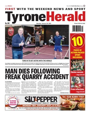 The campaign's launch featured on the front page of the Herald