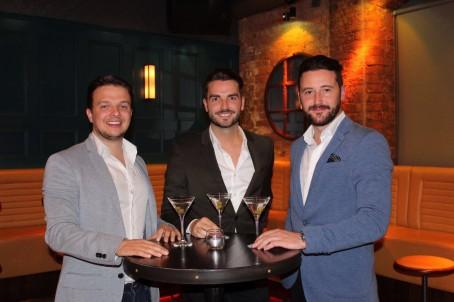 From left: Viper creators Craig Gidley, Stephen Powell and Craig Davies
