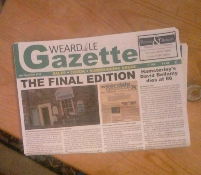 Weardale Gazette