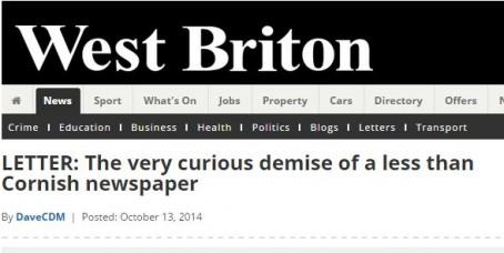 West Briton rant