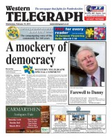 Western Telegraph front