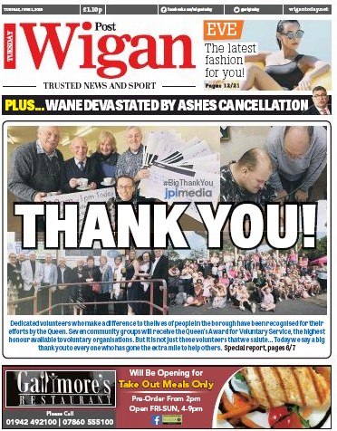 Wigan thanks