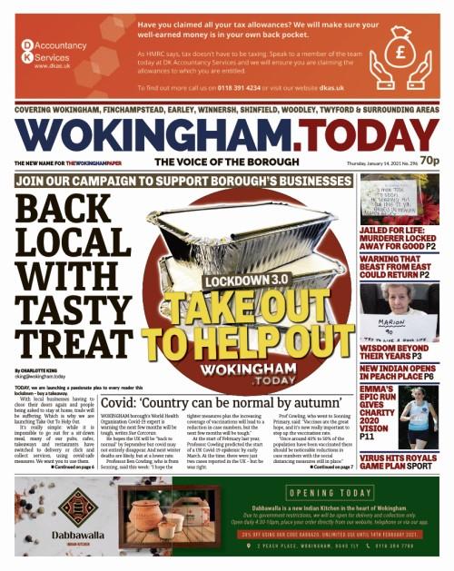 Wokingham takeaway