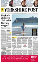 Today's relaunch issue of the YP with the 'The' restored to the masthead