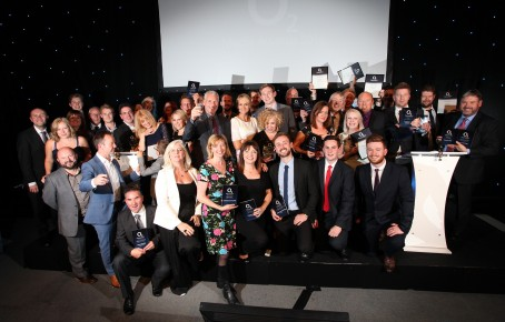 All the winners at last year's O2 Media Awards for Yorkshire and the Humber