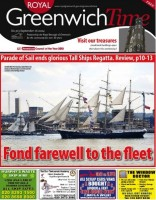 Facing threat of legal action  . . . the local authority's weekly Greenwich Time