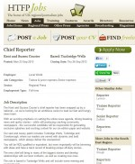 Editor's blog:  New look for HTFP jobs pages