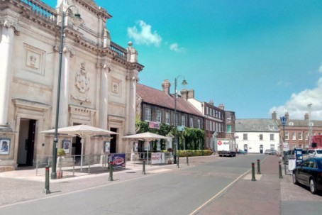 King's Lynn's Tuesday Market Place where the Lynn News will have new offices